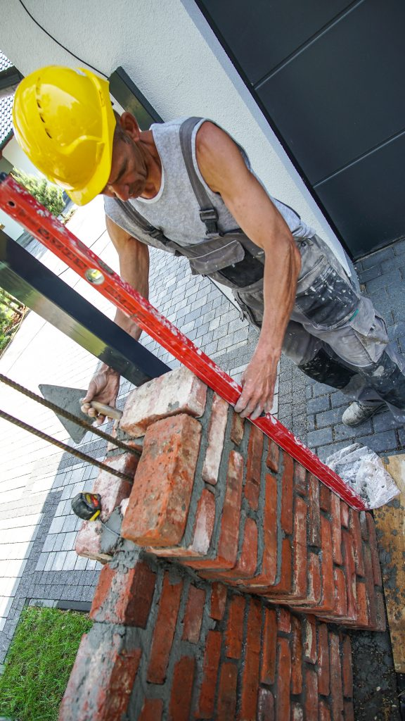 Niewiarygodnie Ogrodzenie ze starej cegły rozbiórkowej - Elpidia Spółdzielnia UL65